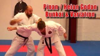 Practical Kata Bunkai: Pinan / Heian Godan Bunkai & Variation