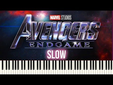 How To Play: Avengers - Endgame (Official Trailer 2 Music) | SLOW Piano Tutorial + Sheets thumbnail