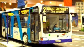 ALL RC BUS ON THE JOB I LONG RC TRAVEL BUSES I SCHOOL BUS I NEOPLAN I MERCEDES I