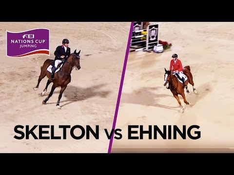 Skelton vs Ehning at the Barcelona final 2016 #Flashback | FEI Nations™ Cup