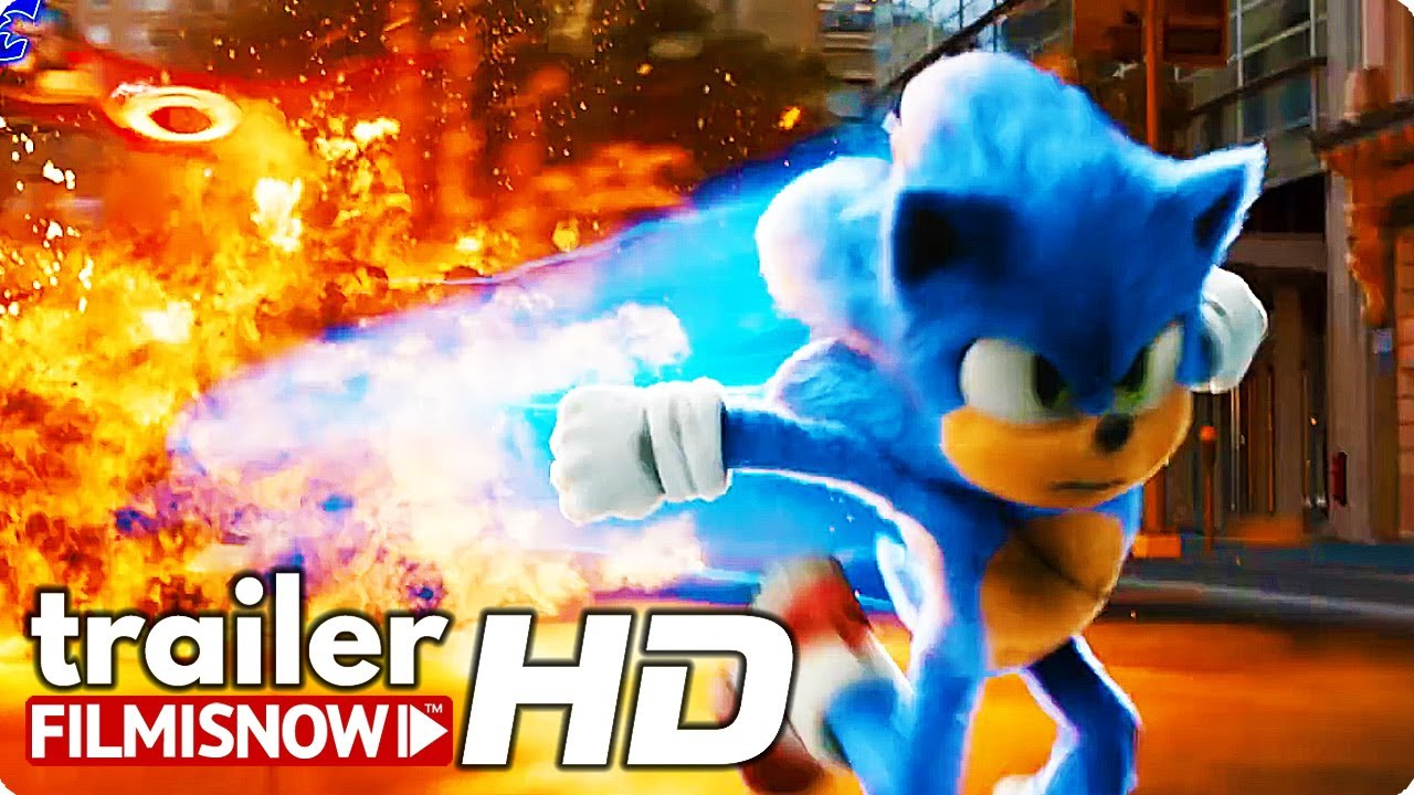 Sonic The Hedgehog Tv Trailer 2020 Video Game Movie Youtube