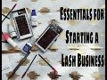 Essential Products for Starting a Lash Business