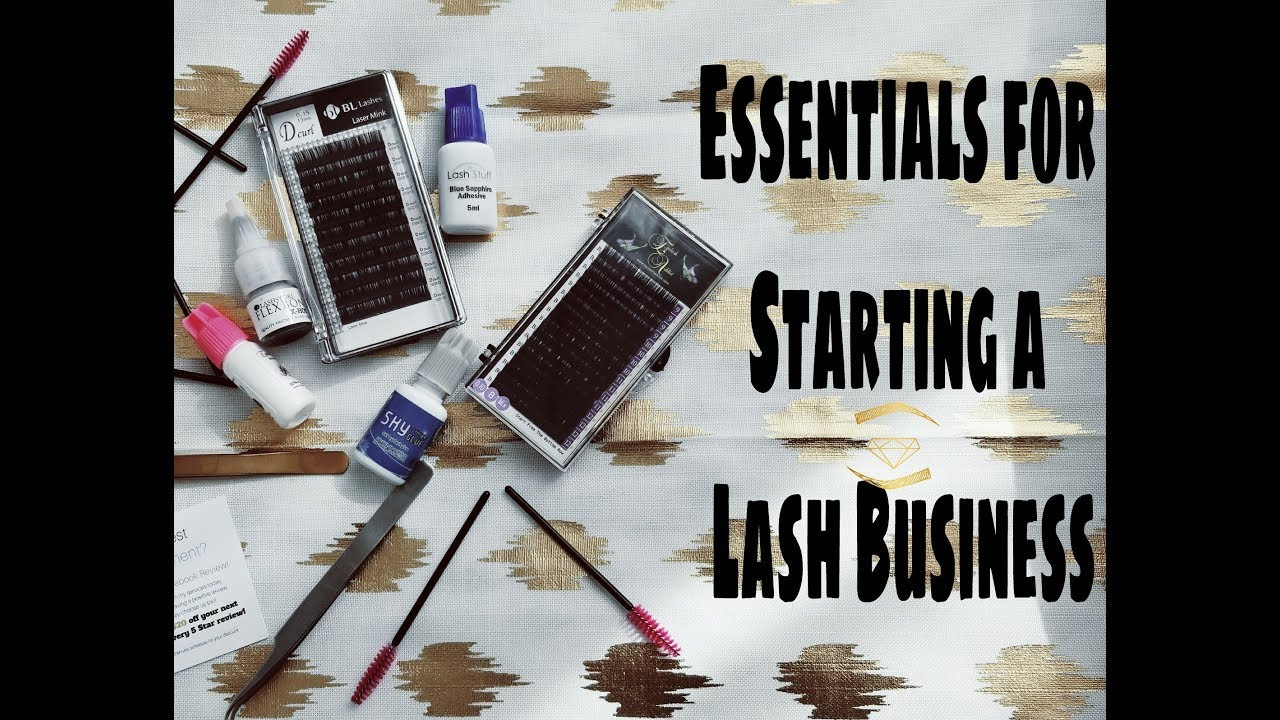 6f694e6eae8 Essential Products for Starting a Lash Business - YouTube