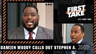 Damien Woody lays into Stephen A. over Aaron Rodgers' blowout loss to the Saints | First Take