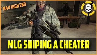 Division - MLG Sniping a cheater