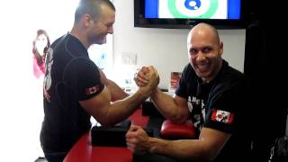 Arm Wrestling - Devon Larratt vs Anthony Dall