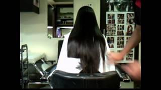 Black Silky Hair Trimming  (Haircut) thumbnail