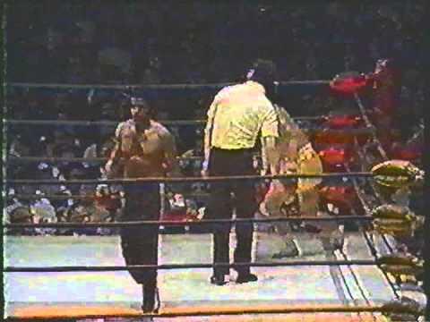Kick Boxing Champion Howard Jackson Vintage Fight