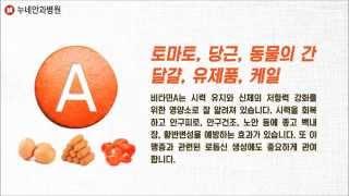 백내장에 좋은 영양제 비타민ABCD