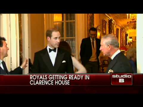 Royal Couple Leaves for Clarence House