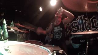Upon This Dawning / Embrace The Evil (Live) - Dorian Mansiaux Drum playthrough