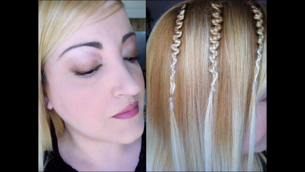 Astuce coiffure avec un d riv de la tresse la tresse tournicottis youtube for Comcoiffure avec tresse facile