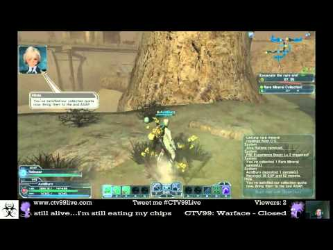 Phantasy Star Online 2 - Planet Lillipa - Desert - Rare Ore Mining - Ark Quest - Normal