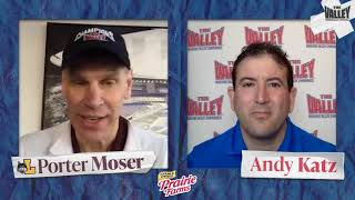 Porter moser talks with andy katz about the ramblers' arch madness title