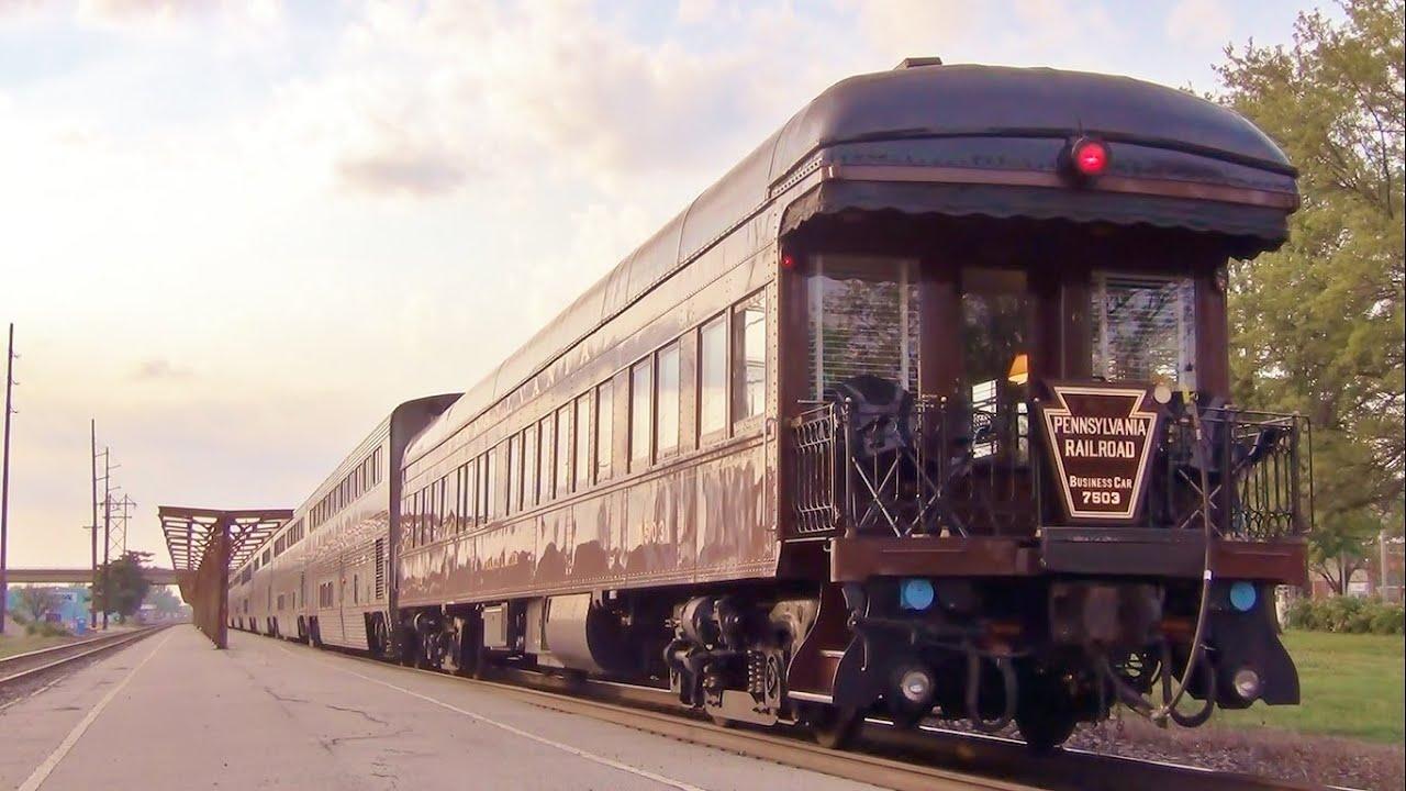 Pennsylvania Railroad Private Car On Amtrak S California