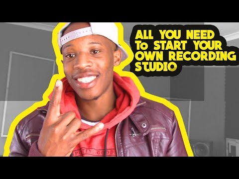 What You Need To Start A Recording Studio In South Africa
