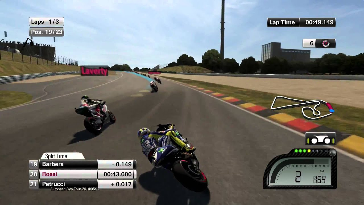 MOTOGP 14 PS4 gameplay HD! - YouTube