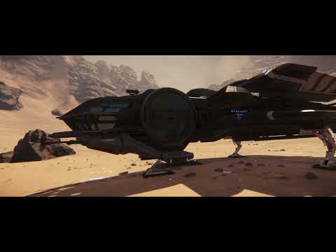 Aurora CL in a Random Valley of Daymar