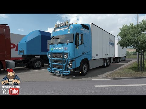 [ETS2 v1.30] Kraker, NTM, Ekeri Tandem Addon for Volvo FH 2012