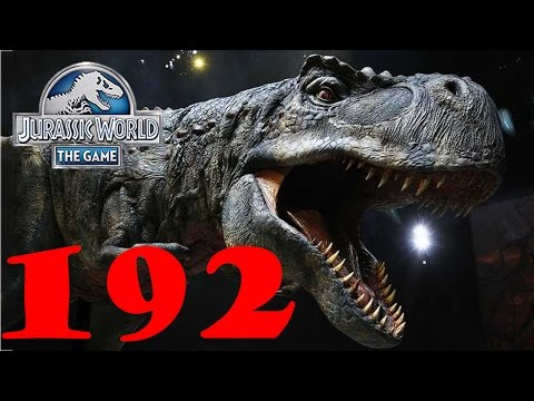 Мега прокачка динозавров. Jurassic World The Game прохождени