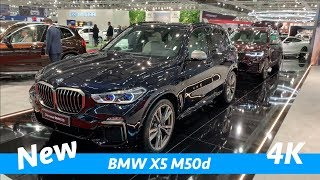 BMW X5 M50d 2019 - first exclusive quick look in 4K - better than new Mercedes GLE?