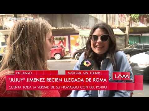 """La invitada VIP de Martín del Potro: Sofía """"Jujuy"""" Jiménez habló de su romance"""