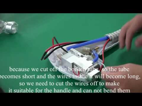How to repaire the broken tube for diode laser machine