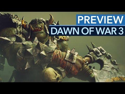 Dawn of War 3 - первые кадры