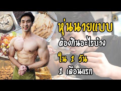 EP.6 อาหารใน 1 วัน ช่วงลดไขมัน และ เพิ่มกล้ามเนื้อให้ชัด สำหรับการประกวดเพาะกายรุ่น Men Physique