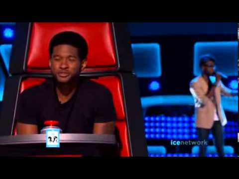Delvin Choice A Song For You   THE VOICE AUDITIONS   LIVE 2 25 14