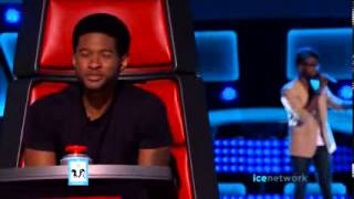 Delvin Choice A Song For You   THE VOICE AUDITIONS   LIVE 2 ...