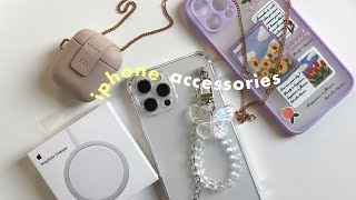 unboxing new accessories for my iphone 12 pro max + airpods💐
