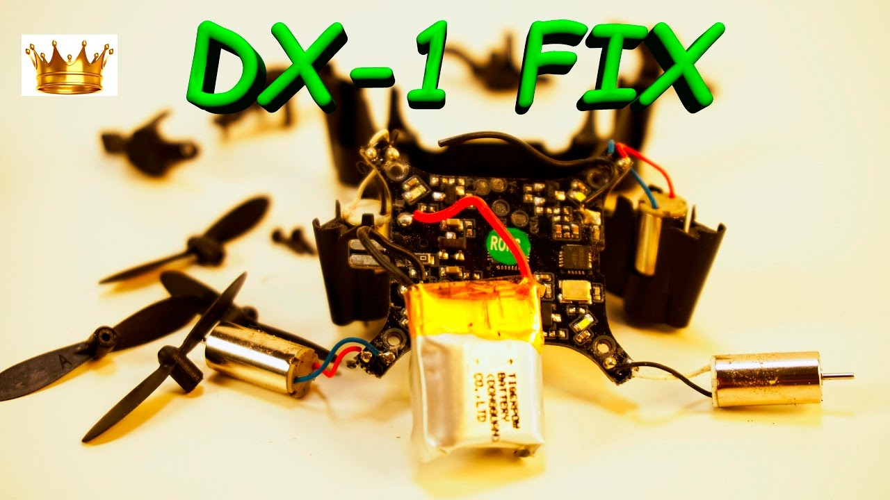 Whats Inside Sharper Image Dx 1 Micro Drone Fly Youtube