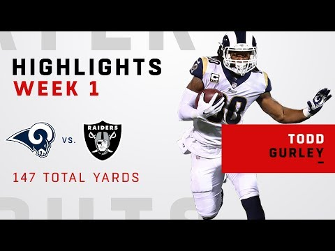 Todd Gurley's Great Game w/ 147 Total Yards