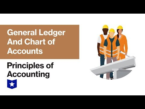General Ledger And Chart Of Accounts | Principles Of Accounting