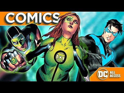 NIGHTWING Leaving Blüdhaven Forever? + The Future of GREEN LANTERNS