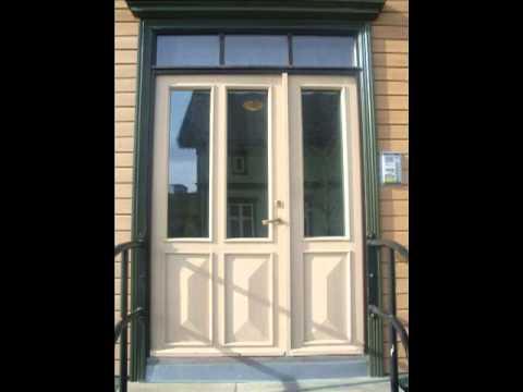 Levanger's weird doors!