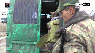 Война на Донбассе  Уникальные кадры  25 02 2015
