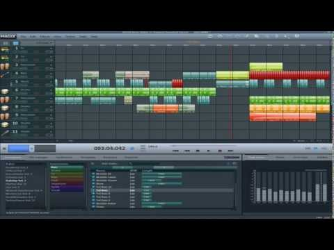 Magix Music Maker 17 - Dubstep Test 2 - Bass