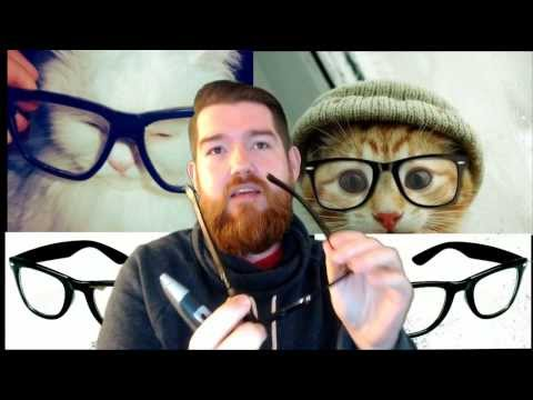 How to get / make Hipster Glasses on the cheap!