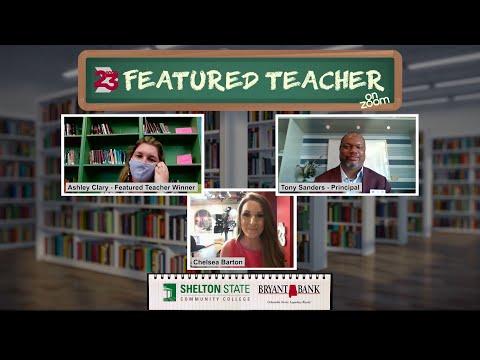Featured Teacher, November 2020: Ashley Clary, Greensboro Middle School