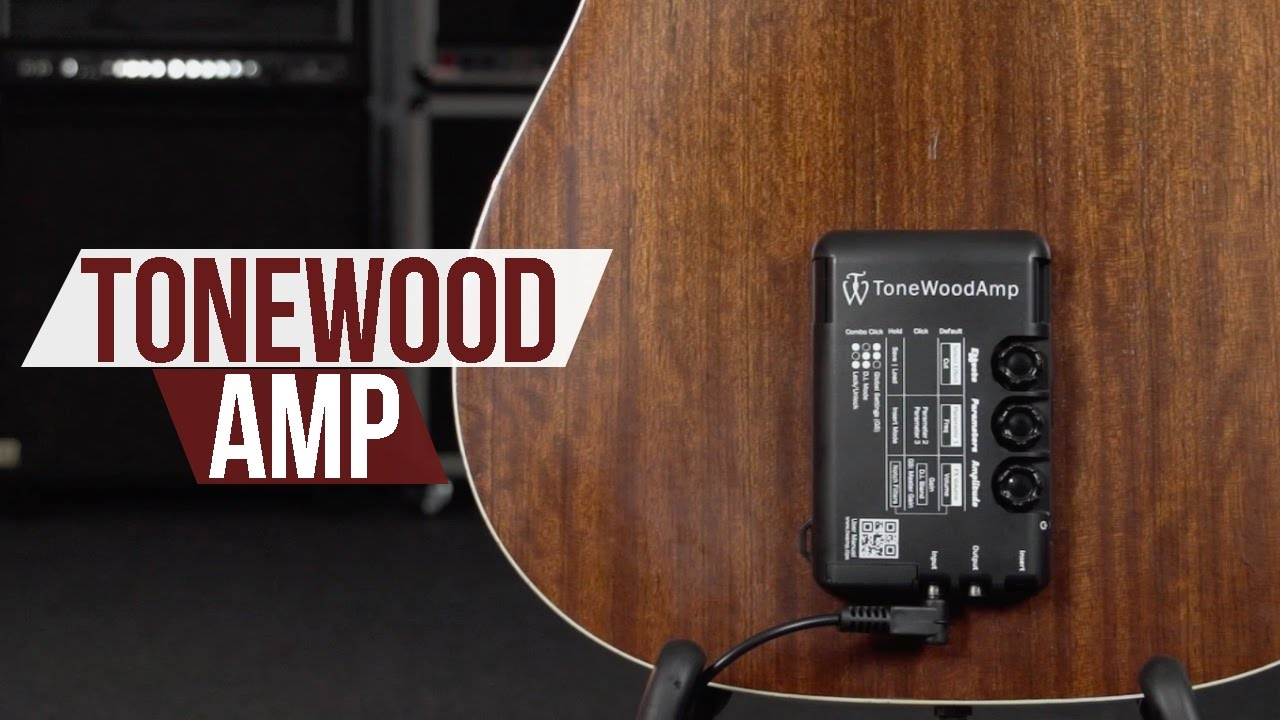 Tonewood Amp An Amazing Acoustic Guitar Enhancement Youtube