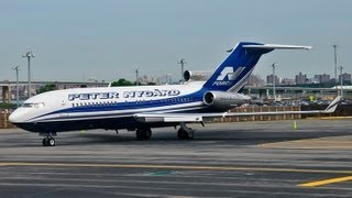 peter nygard s private boeing 727 17 re super 27 vp bpz landing at lga