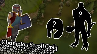 ...Are there any more upgrades? - Champion Scroll Only Ironman #9