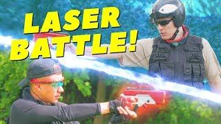 X-shot Laser BATTLE | First Peson Shooter