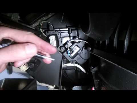 How To Replace A Chevy Heat Door Actuator - Impala 2006-2013