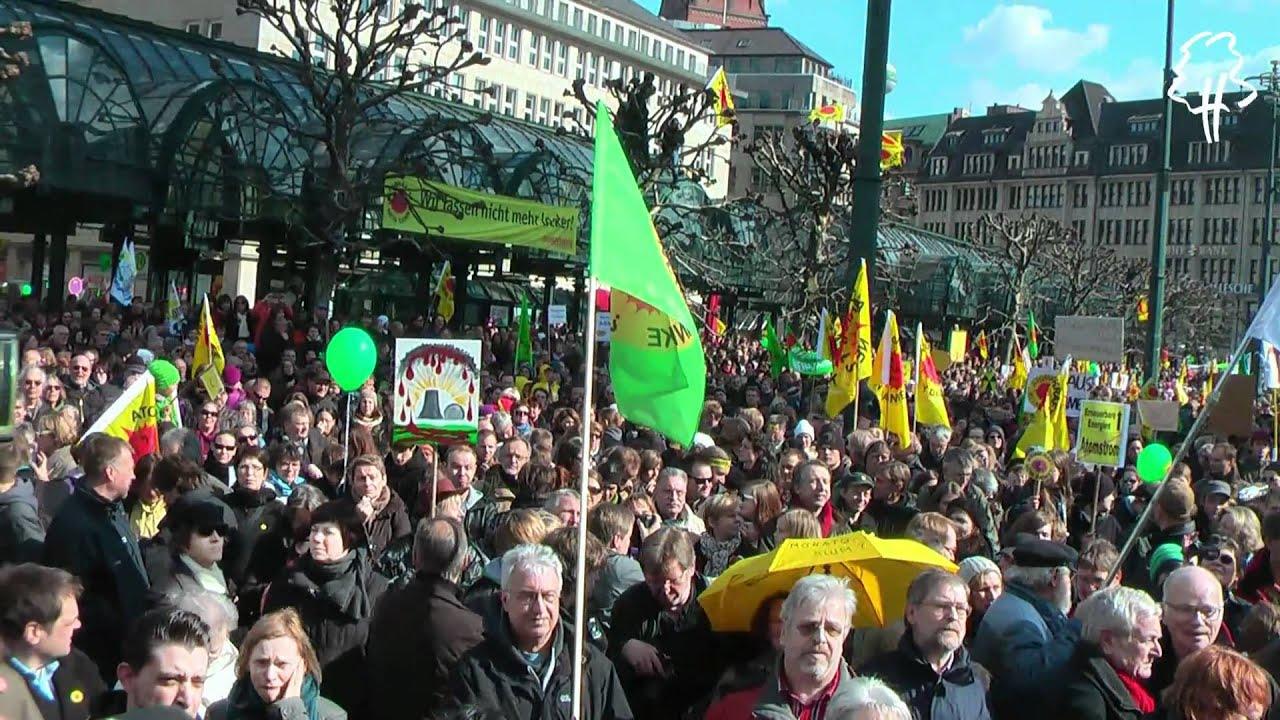 Demonstration Hamburg