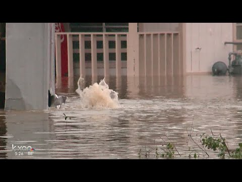KXAN - People in La Grange are surveying the flooding aftermath