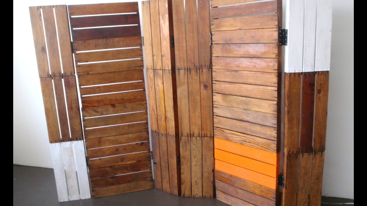 solid wood room divider - youtube
