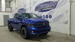 Pre-owned 2015 Ram 1500 QuadCab Sport W/ 5.7L Hemi, Command Start Overview | Boundary Ford